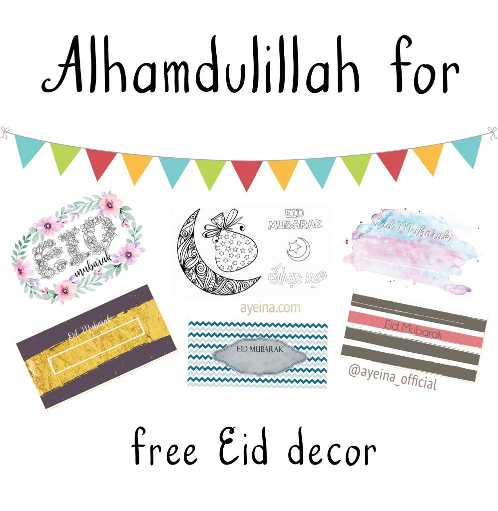 10 free eid decor
