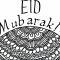 Ramadan Day 28: Free Colour-in Eid Card
