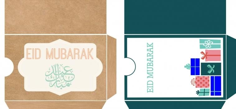 Ramadan Day 26 – A Crafty Arab Eid Gift Cards
