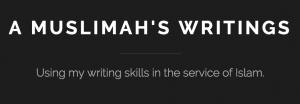 A Muslimah's Writing