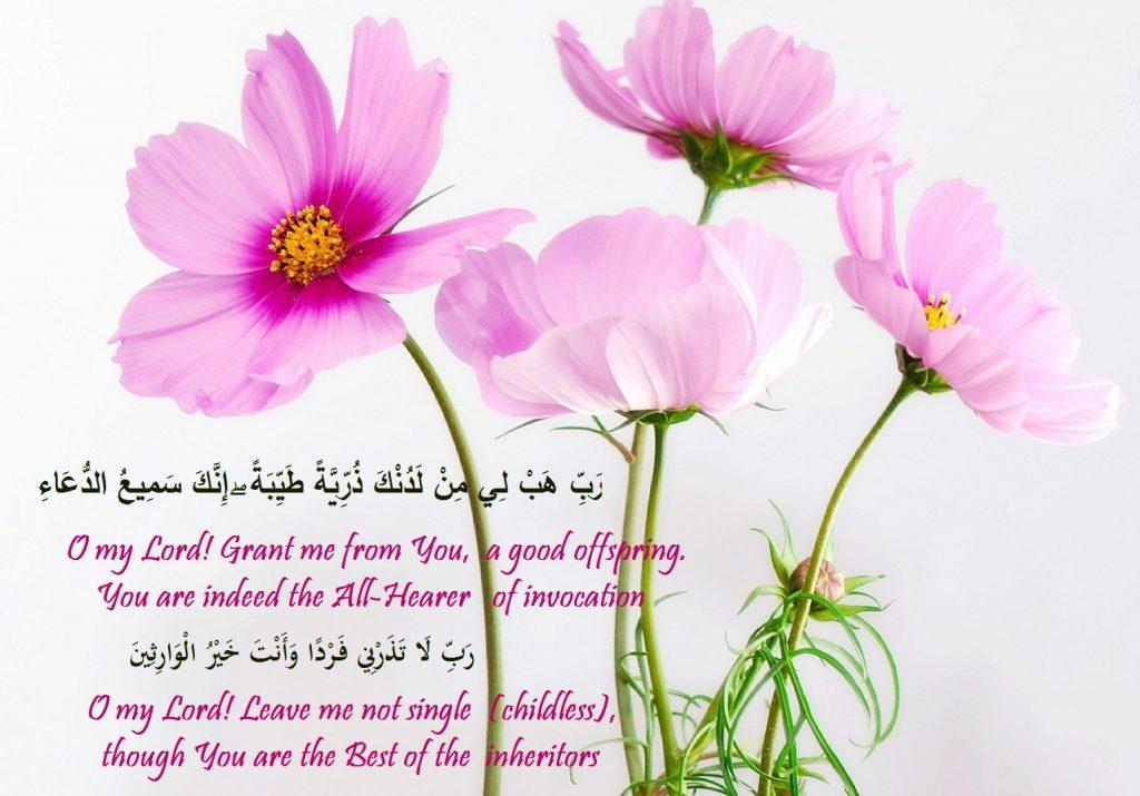 Zakkariya As invocations
