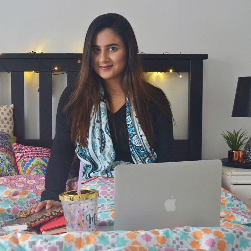 Ayesha from Crazy Ammi Blog