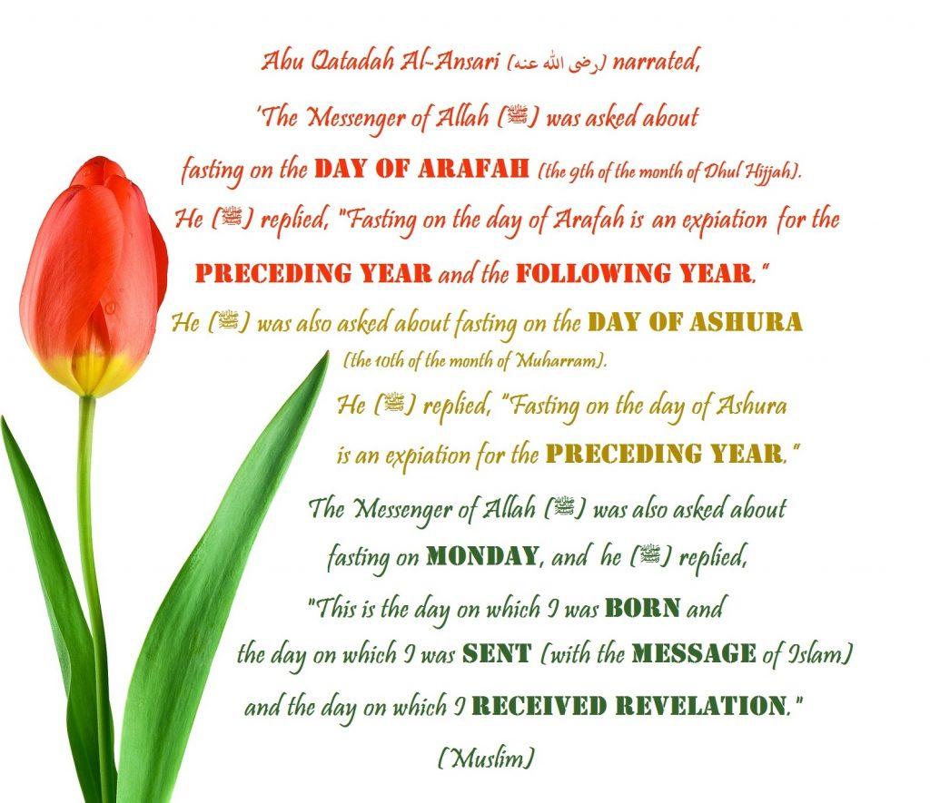 Ashura Arafah Monday