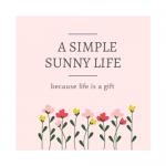 A simple sunny life