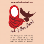 Red Leather Shawl