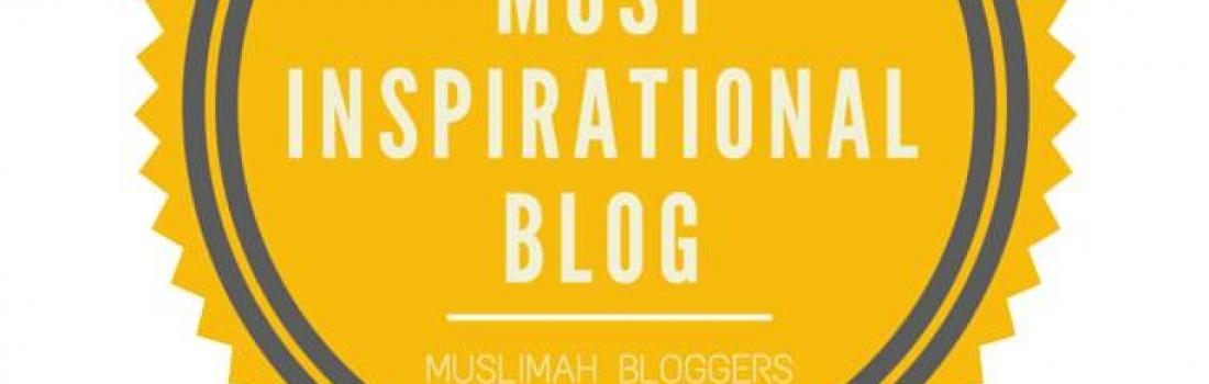 Most Inspirational Blog Award Winner Interview