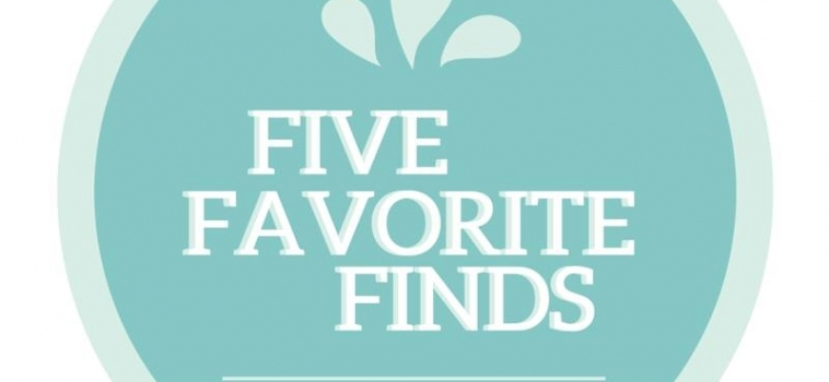 Five Favourite Finds – 31/07/15