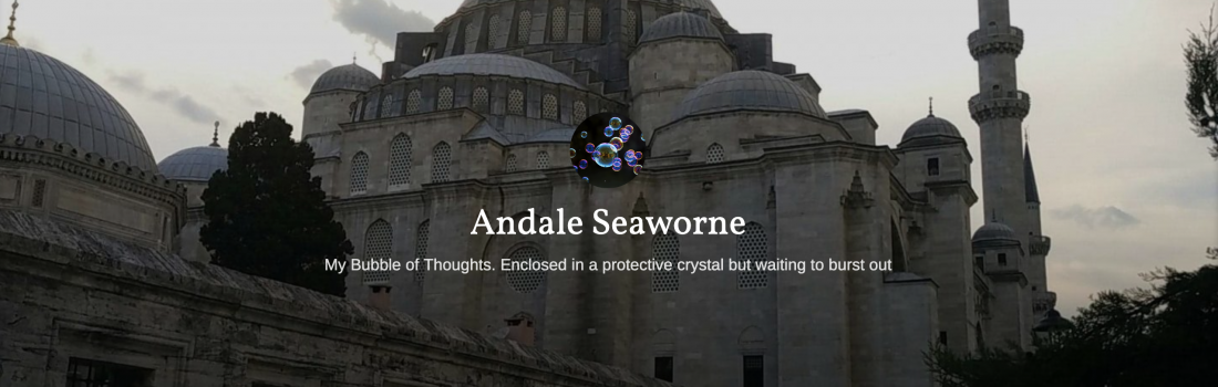 Andale Seaworne – July 2019 Featured Blogger