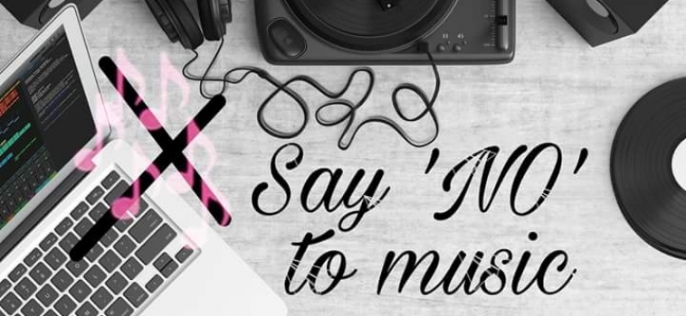 Say 'NO'❌ to music🎶