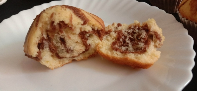 Ramadan Recipe: Large batch Marble Muffins recipe with oil – Ramadan 2020 Day 13