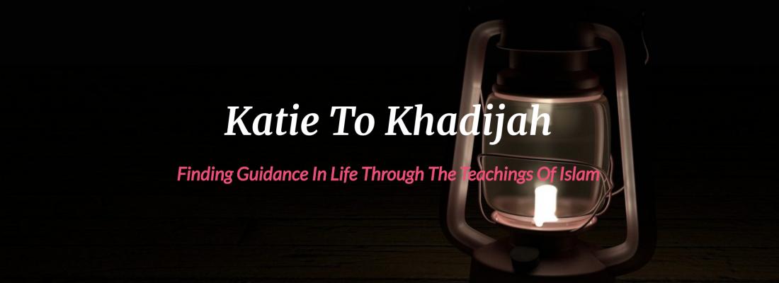 December Featured Blogger – Katie to Khadijah