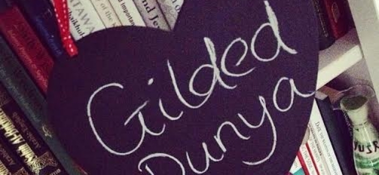November Featured blogger: Gilded Dunya