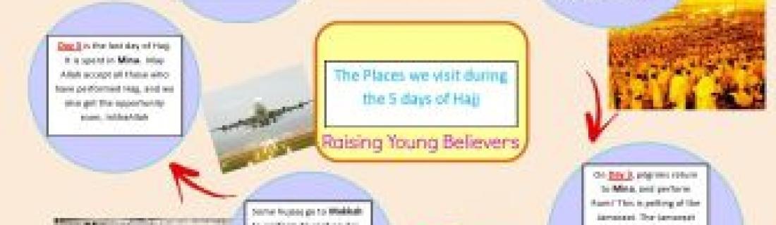 Hajj Info For Little People