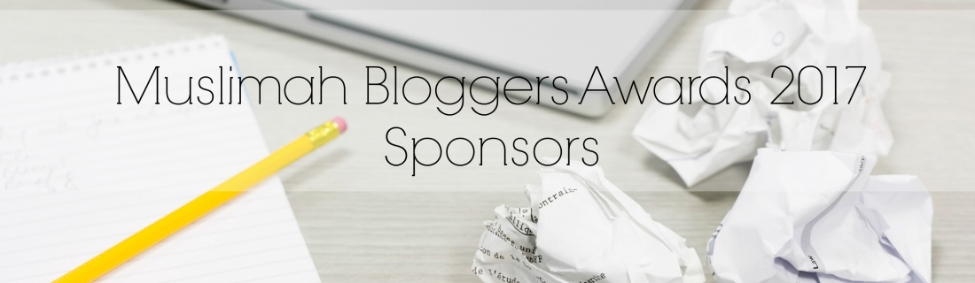 Muslimah Bloggers Awards 2017 Sponsors